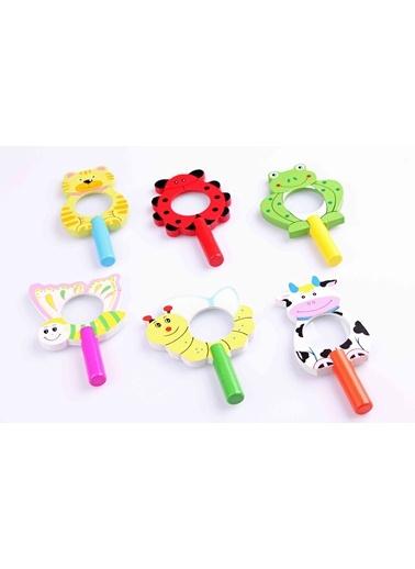 2'li Hayvan Figürlü Ahşap Büyüteç Seti-Learning Toys
